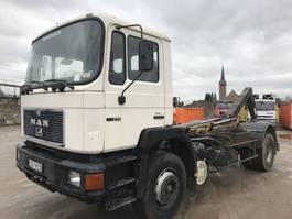 containersysteem vrachtwagen MAN 19.272 **BIG AXXLE-FULL STEEL SUSPENSION** 1992