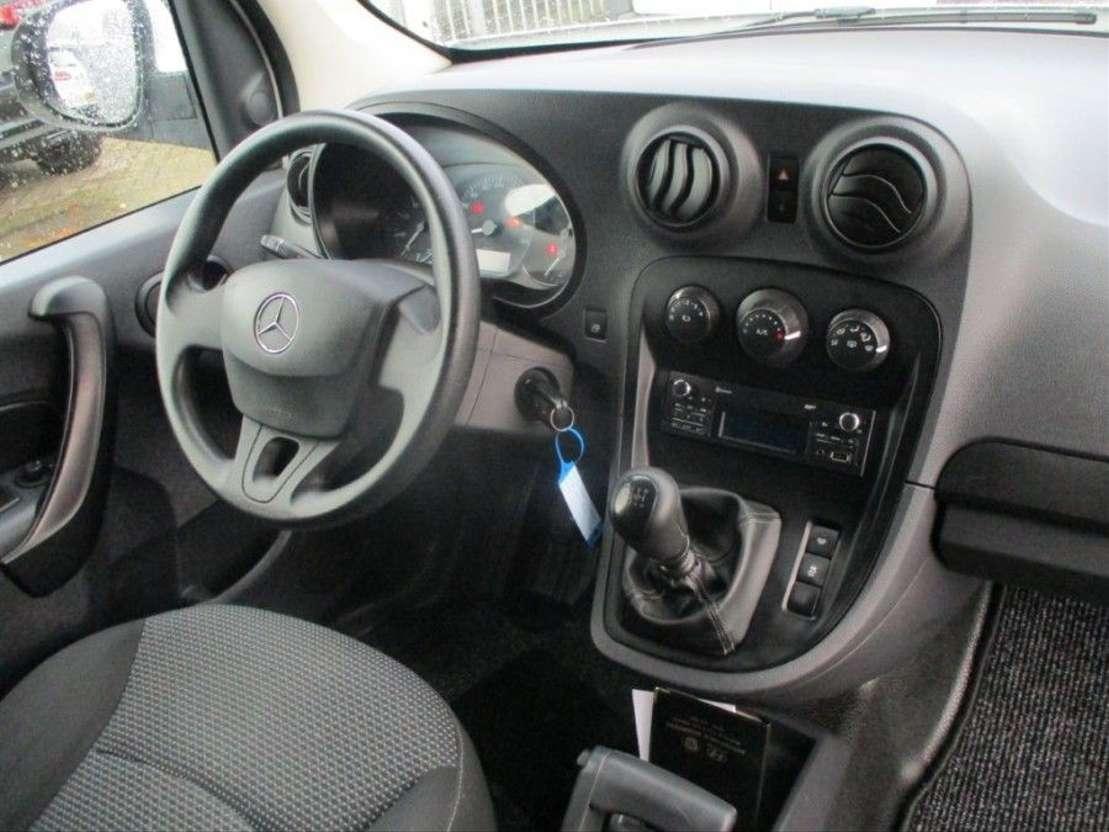 gesloten bestelwagen Mercedes Benz Citan 111 CDI 81KW BlueEFF. KLIMA SCHUIFDEUR 2015