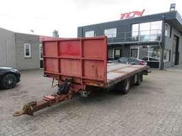 platte aanhanger vrachtwagen Pacton 2 ASSIGE AANHANGER 2005