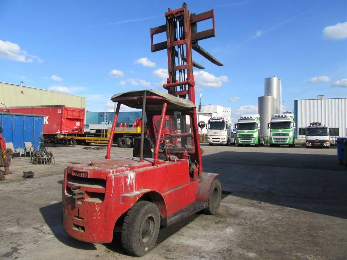 vorkheftruck Clark 5 Tons Forlift 1985