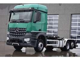 containersysteem vrachtwagen Mercedes Benz Arocs 2643 met containersysteem in prachtige staat EURO6 2014