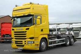 roro trekker Scania R 450 6x2 Topline Retarder Alcoa Hiab Multilift 2015