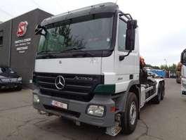 containersysteem vrachtwagen Mercedes Benz Actros 3341 palfinger Pk 23005 tractor TOP 2008