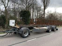 platte aanhanger vrachtwagen Universeel 3 asser platte aanhangwagen aanhanger 1996