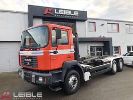 containersysteem vrachtwagen MAN 27.464 6x4 BB / Meiller 19.65 Abrollkipper / Retarder 1999