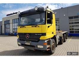 containersysteem vrachtwagen Mercedes Benz Actros 2548 Day Cab, Euro 3, Full steel suspension 2000