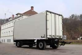 gesloten opbouw aanhanger Schmitz Cargobull KO18 Durchladesystem LBW 2008