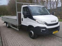chassis cabine bedrijfswagen Iveco 70C18 OPEN LAADBAK 2016