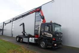 containersysteem vrachtwagen Mercedes Benz ACTROS 2535 6X2 PALFINGER PK13000 1997