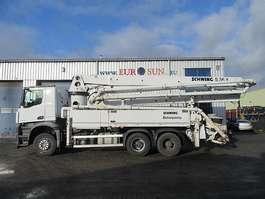 betonpomp vrachtwagen Mercedes Benz SCHWING S 36 X - P2023 / 110/75RM 2015