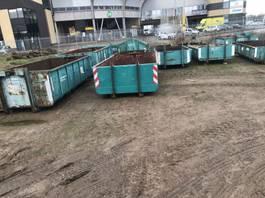 puin container puincontainers gebruikt diverse maten haak/kabel