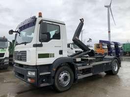 containersysteem vrachtwagen MAN TGM 18.280 BL  VDL-WAF 14 Ton Haaksysteem 2009