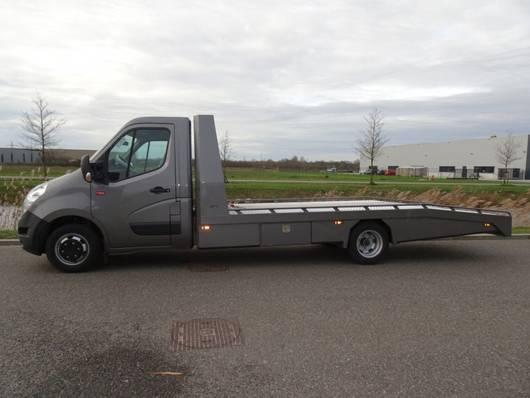oprijwagen bedrijfswagen Renault Master 3500 Tijhof AluLiner oprijwagen 2019