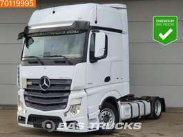 mega-volume trekker Mercedes Benz Actros 1842 LS 4X2 Mega Xenon Navi 2x Tanks GigaSpace Euro 6 2016