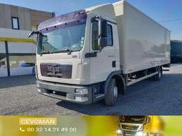bakwagen vrachtwagen MAN TGL 12.220 bakwagen met laadklep euro5 2010