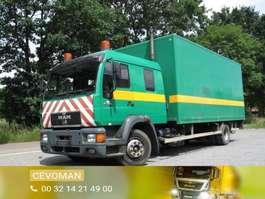 bakwagen vrachtwagen MAN 15.264 doka bakwagen met laadklep 1998