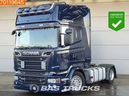 mega-volume trekker Scania R520  4X2 Retarder Mega V8 Navi ACC 2x Tanks Euro 6 2015