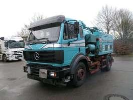 tankwagen vrachtwagen Mercedes Benz SK 1824 KOMBI:Saug/Druck/Spül/Diesel Heizöl Tank