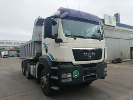 kipper vrachtwagen > 7.5 t MAN TGS 33.440 BL HYDRO  6X6 Wechselsys  SZM/ Kipper 2009