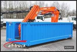 gesloten wissellaadbak Huffermann Container Elektro Kran Tirre 331 Funk, stationär, Offshore 2016