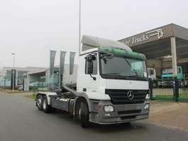 containersysteem vrachtwagen Mercedes Benz ACTROS 2641 6X2/4 EURO 5 - 308.600 KM - CONTAINERWAGEN 2008
