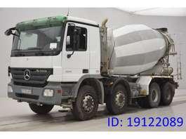 betonmixer vrachtwagen Mercedes Benz Actros 3241 - 8x4 2008