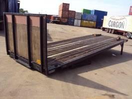 flat rack zeecontainer VERNOOY LAADVLOER 5986