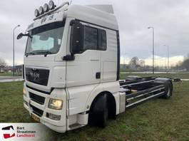 wissellaadbaksysteem vrachtwagen MAN TGX 18.400 4X2 LL Bdf manual Euro 5 2008