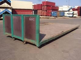 flat rack zeecontainer VERNOOY LAADBAK 6265