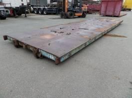 flat rack zeecontainer VERNOOY LAADVLOER 7043
