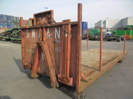flat rack zeecontainer VERNOOY LAADBAK 6912