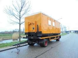platte aanhanger vrachtwagen ATM 2-Axle Trailer / Mobile Canteen - Workshop / BPW Axles 2000