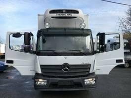 koelwagen vrachtwagen Mercedes Benz Atego Neu 1218 L Tiefkühler +/-30 Grad Ladebord 2014
