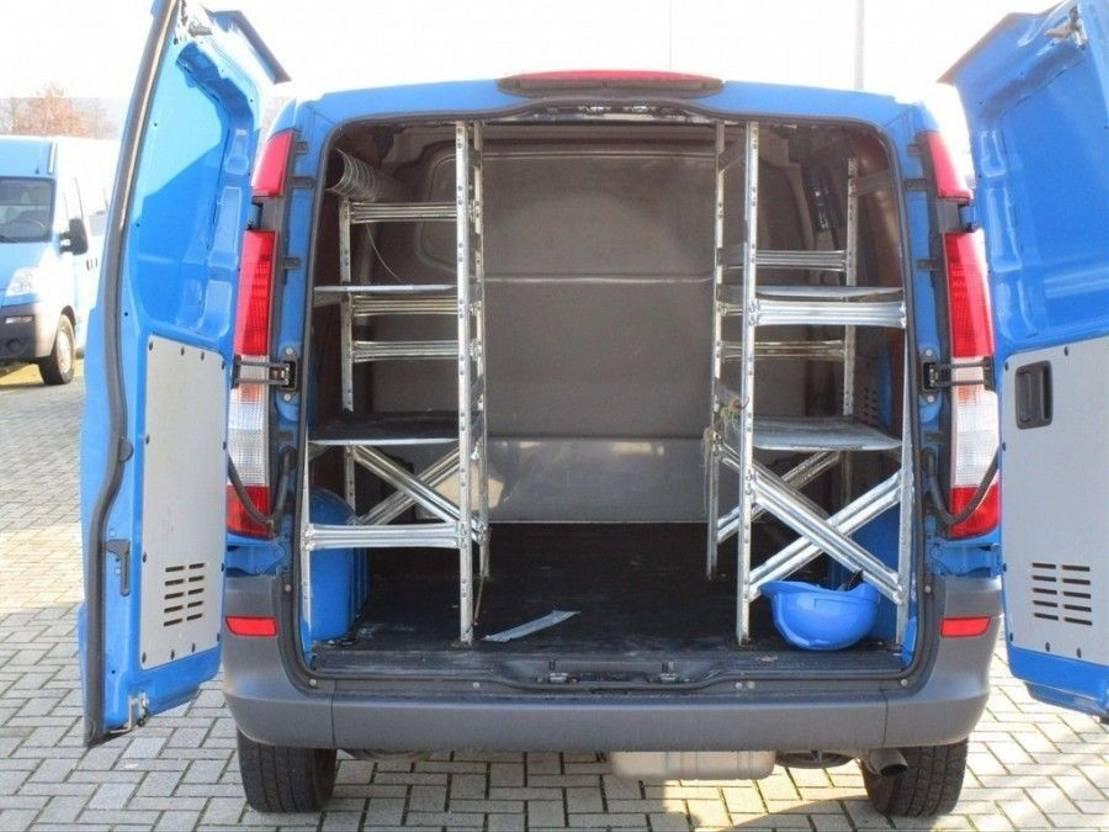 gesloten bestelwagen Mercedes Benz Vito 113 CDI 320 2014