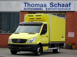 koelwagen bakwagen Mercedes Benz Sprinter 513 Cdi Tiefkühlkoffer 2 Kammern Klima 3.5 T Euro 5 2012