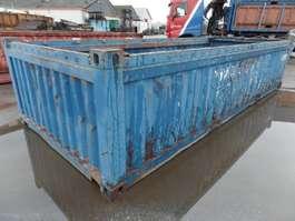 open top zeecontainer VERNOOY ZEECONTAINER  OPEN 20FT 298266