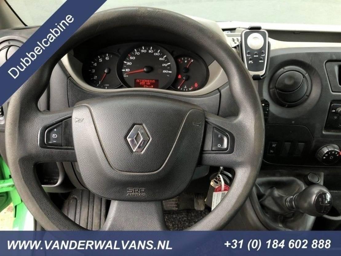 gesloten bestelwagen Renault Master T35 2.3dCi 126pk L2H2 Dubbel Cabine Airco, 2500kg trekhaak, sideb... 2014
