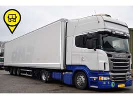 mega-volume trekker Scania R440 EURO6 + GROENEWEGEN 3-AS DUBBELSTOCK 2013