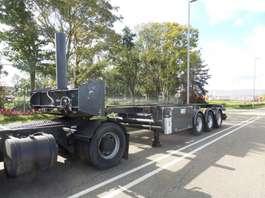 chassis oplegger Feldbinder 30 ft tippingchassis whit rotory valve + ADR 2008