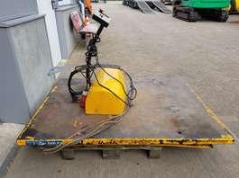 overige materiaal handlers Hub-lift Hub-lift hydraulische heftafel