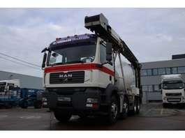 betonmixer vrachtwagen MAN TGA 32.360 BB+LIEBHERR 8M3+TAPIS 2007