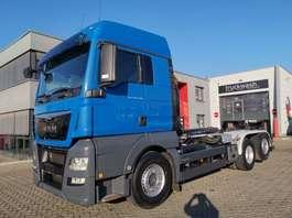 containersysteem vrachtwagen MAN TGX 26.440 6x2-4 BL / Intarder / Lift-Lenkachse 2015