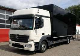 bakwagen bedrijfswagen Mercedes Benz Atego 823L L-Fahrerhaus Koffer 6,40m  LBW E6 TÜV 2014