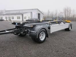 container chassis oplegger HSA 20.70 zwillingsbereift Schlitten neu 2020