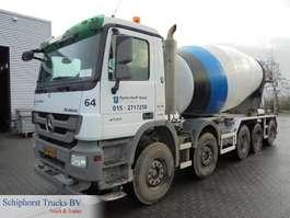 betonmixer vrachtwagen Mercedes Benz ACTROS 5041 B / MIXER 15 m3 / MP3 2009