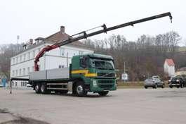 huifzeil vrachtwagen Volvo FM13.440 6x2 E5 Kran Effer 165 Funk Leasing 2008
