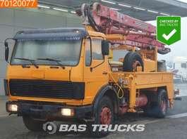betonpomp vrachtwagen Mercedes Benz 1624 4X2 V8 Concrete-Pump Putzmeister 1979