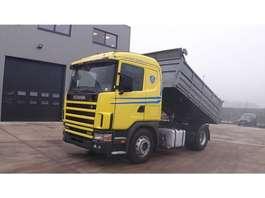kipper vrachtwagen Scania 114 - 380 (MANUAL GEARBOX / BOITE MANUELLE) 2001