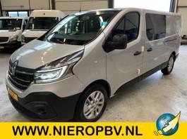 gesloten bestelwagen Renault trafic dubcab automaat navi airco 2020