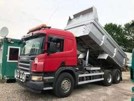 kipper vrachtwagen Scania P380LB 2009